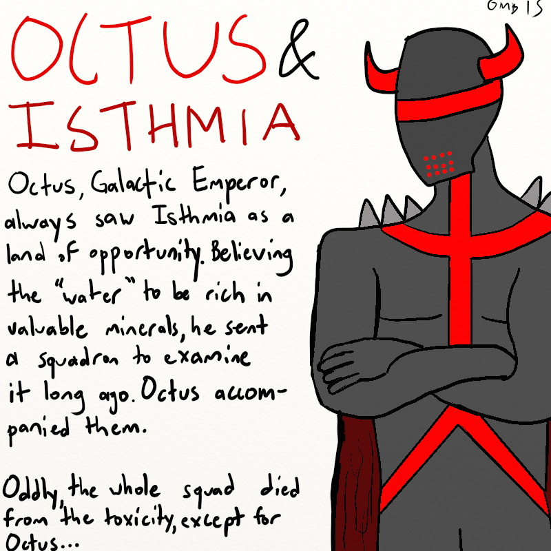Octus and Isthmia